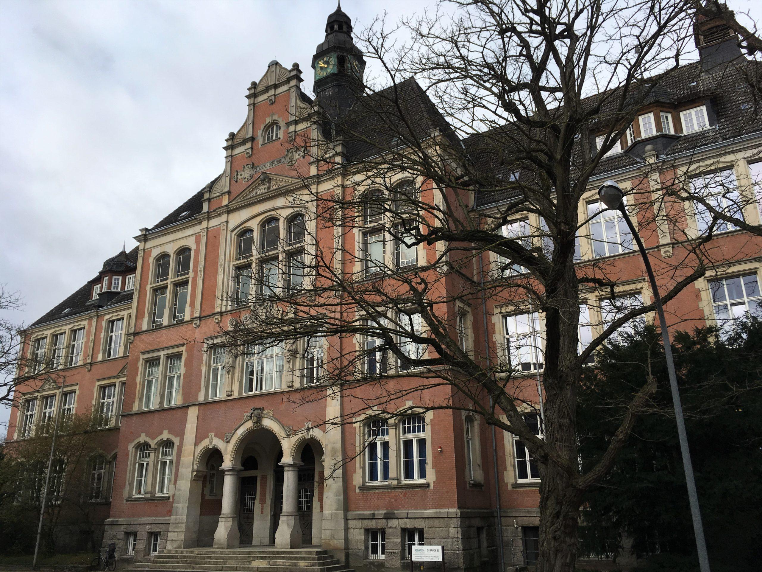 Die Schulorgel der Oberschule für Jungen in Uelzen