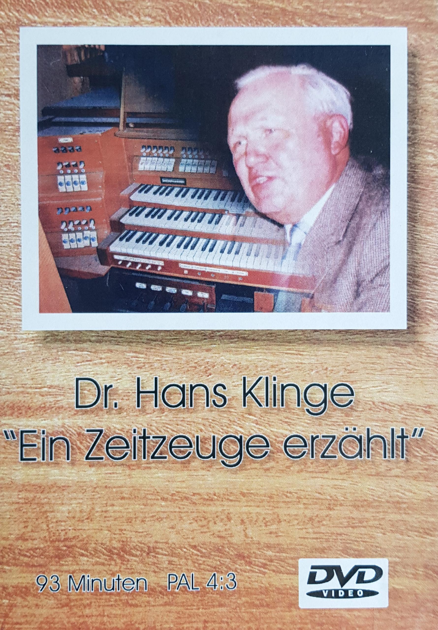 Dr. Hans Klinge